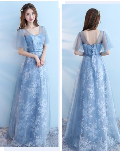 Gaun Bridesmait bride m 032 2 bridesmaid_biru